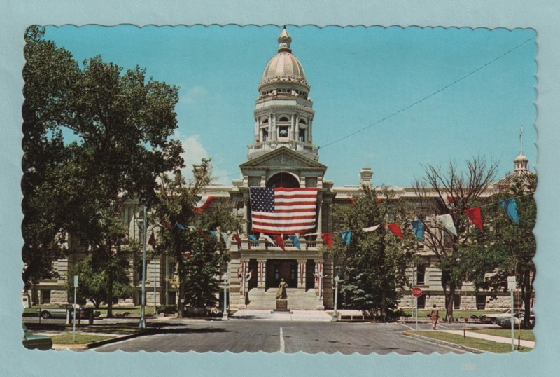 Details about Wyoming State Capitol Building, Cheyenne, Wyoming